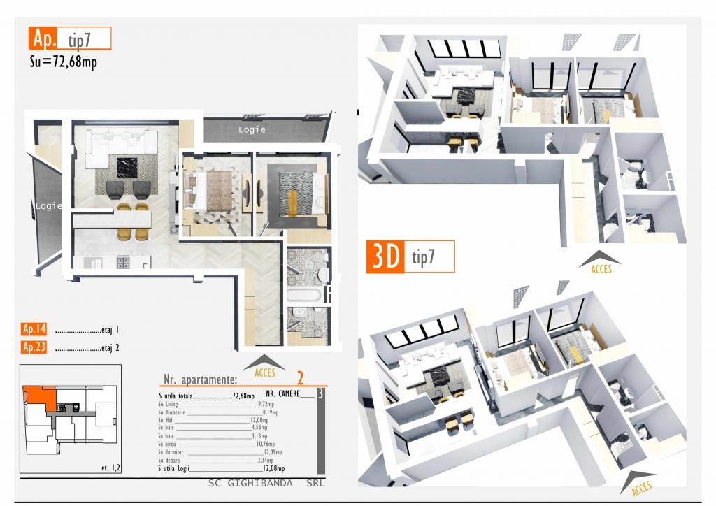 Apartament 23 - Hidden Residence