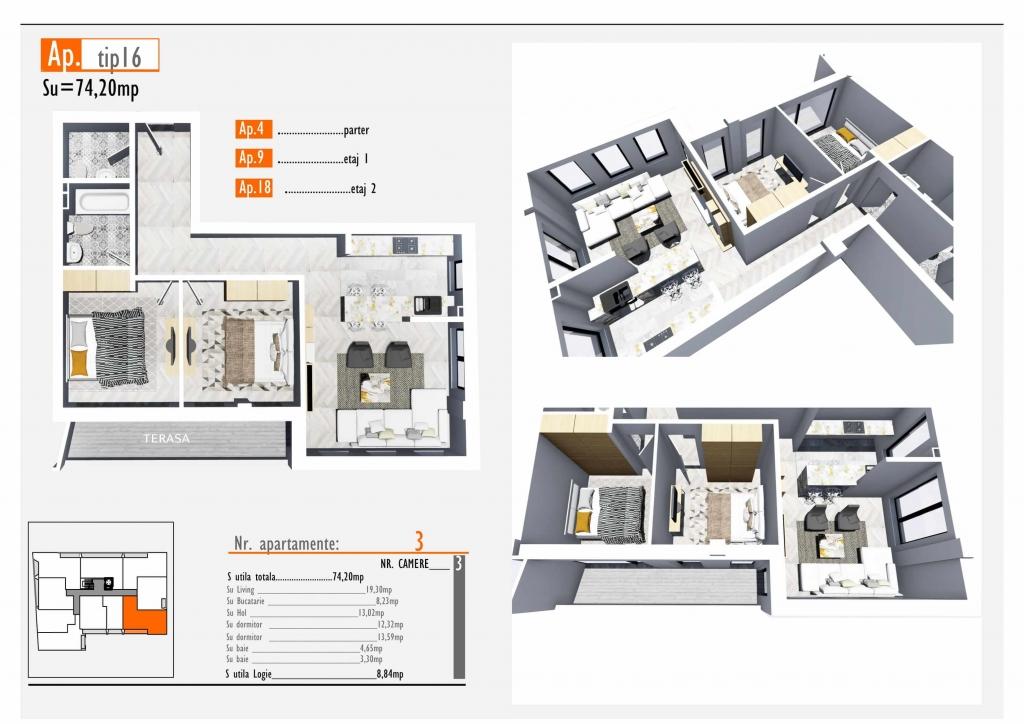 Apartament 4 - Hidden Residence
